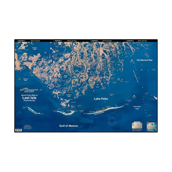 Standard Mapping Service Cocodrie - Last Isle, Louisiana Laminated Map Sale $23.99 SKU: 615646 ID# LM019 UPC# 654149100192 :