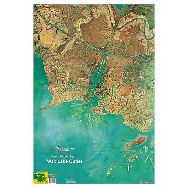 Standard Mapping Service Wax Lake Outlet, Louisiana Laminated Map Sale $13.77 SKU: 615752 ID# LM030 UPC# 654149100307 :
