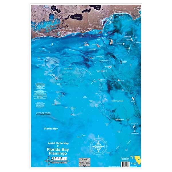 Standard Mapping Service Florida Bay/Flamingo, Florida Laminated Map Sale $13.77 SKU: 624341 ID# F107 UPC# 654149171079 :