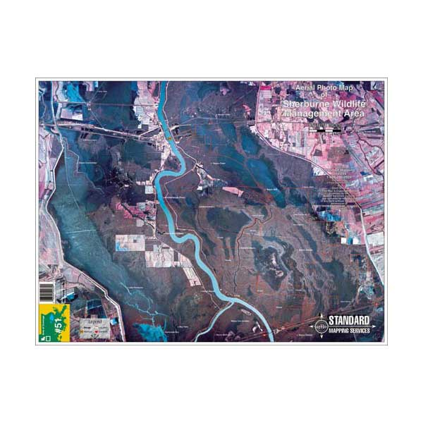 Standard Mapping Service Sherburne, Louisiana Laminated Map Sale $13.77 SKU: 629977 ID# LM051 UPC# 654149100512 :