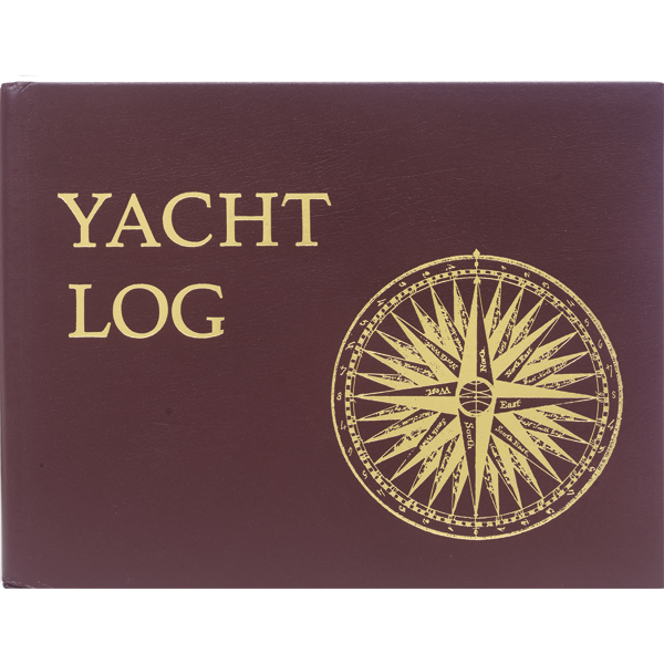 Hardcover Mystic Yacht Log