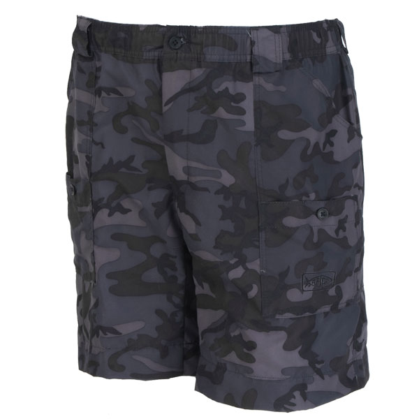 Men's AFTCO Original Long Fishing Shorts, Dark Camo, 28 Camo Sale $54.00 SKU: 12883179 ID# M01L-DCAM-28 UPC# 54683203630 :