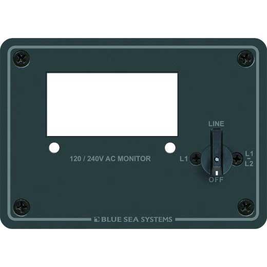 Blue Sea Systems AC Digital Meter Panel - 240V AC