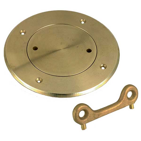 Perko 3 Deck Plate, Chrome Plated Bronze Sale $184.99 SKU: 6593040 ID# 0526003CHR UPC# 85226193316 :