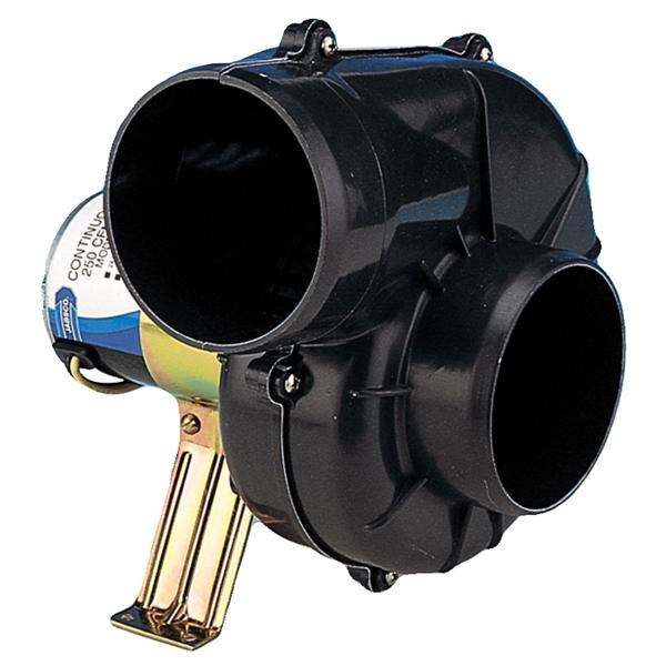 Jabsco 250 CFM Heavy-Duty Flex Mount Blower - 4