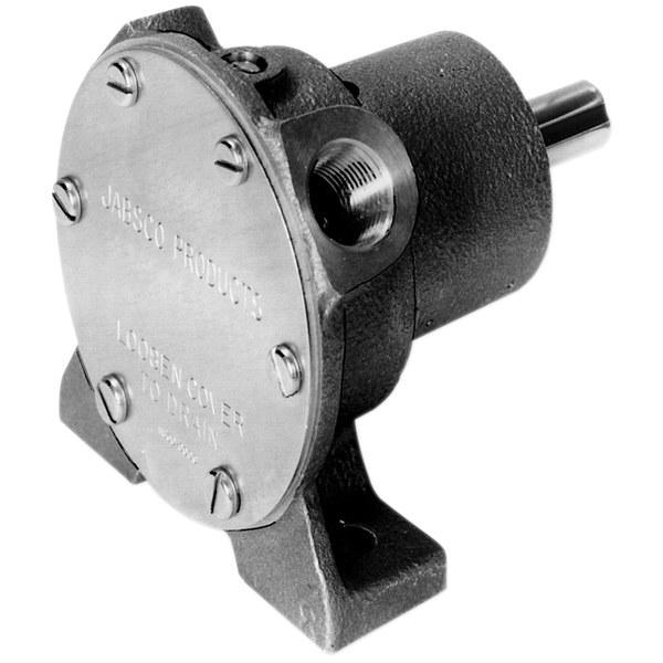 Jabsco Flexible Impeller Pedestal Shaft Driven Pump, 3/8 Port