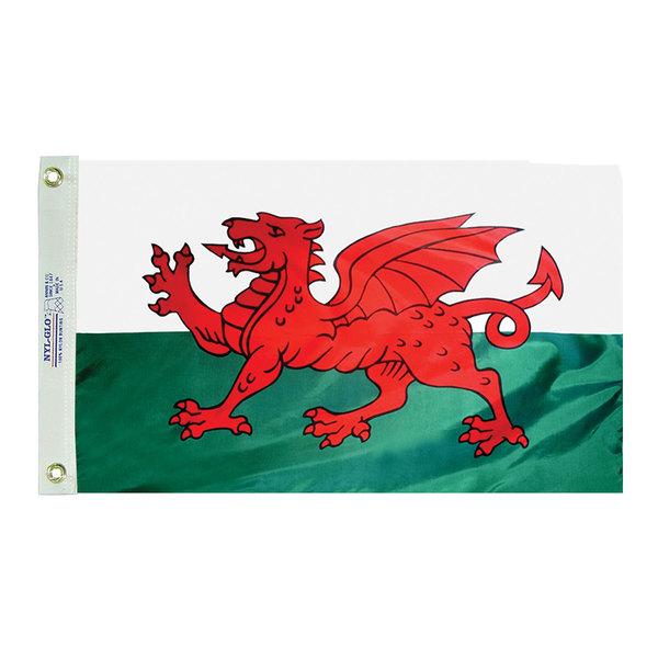 Annin Flagmakers Dyed Wales Flag, 12W x 18L Sale $14.88 SKU: 6668701 ID# 221111 UPC# 26427211119 :