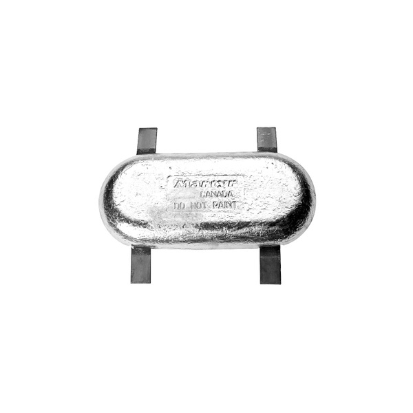 Martyr Hull Anode, Aluminum, with Steel Straps Sale $97.99 SKU: 6671150 ID# CMZ22SA UPC# 628309113964 :
