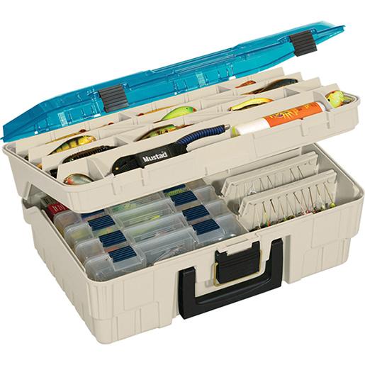 Plano Two-Level Magnum Tackle Box Sale $37.99 SKU: 6800973 ID# 1350-10 UPC# 24099013505 :