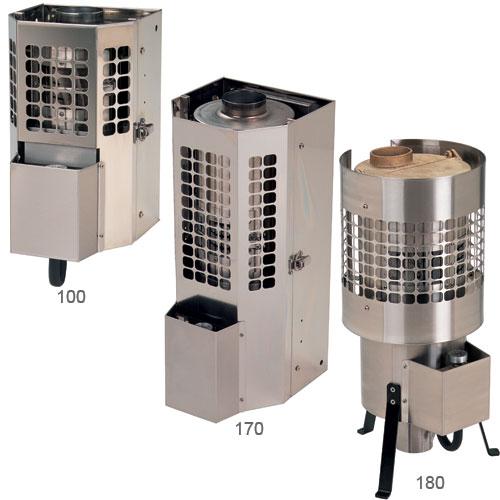 Sig Marine Sigmar 180 Floor Heater, BTU Low: 6,000; BTU High: 18,000, 24H x 10W x 10Dia