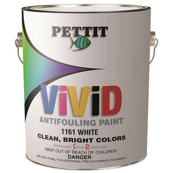 Pettit Paints ViViD Antifouling Paint, Quart, Blue
