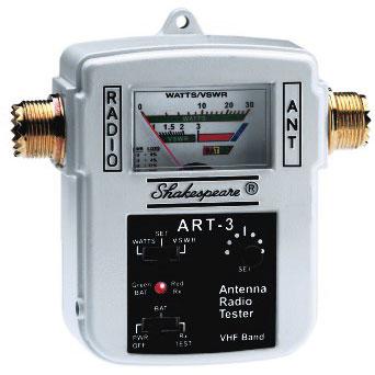Shakespeare SWR/Watts Out/RX Sensitivity Meter Sale $119.99 SKU: 6886915 ID# ART-3 UPC# 719441151034 :