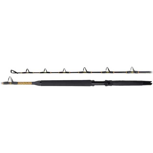 PENN International Stand-Up Rod, Slick Butt, Pac Turbo Guides, 6', 50-100lb.