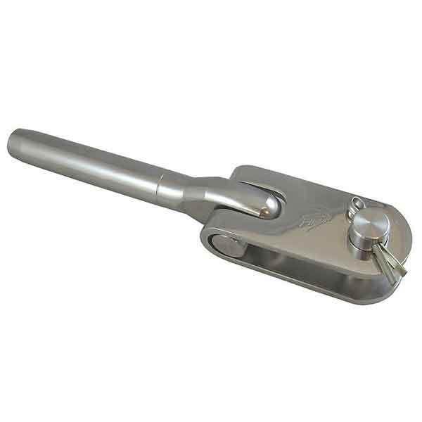 Hayn Marine Eye Toggle Jaw, 3/8 Wire, 5/8 Pin, 5/8 Jaw