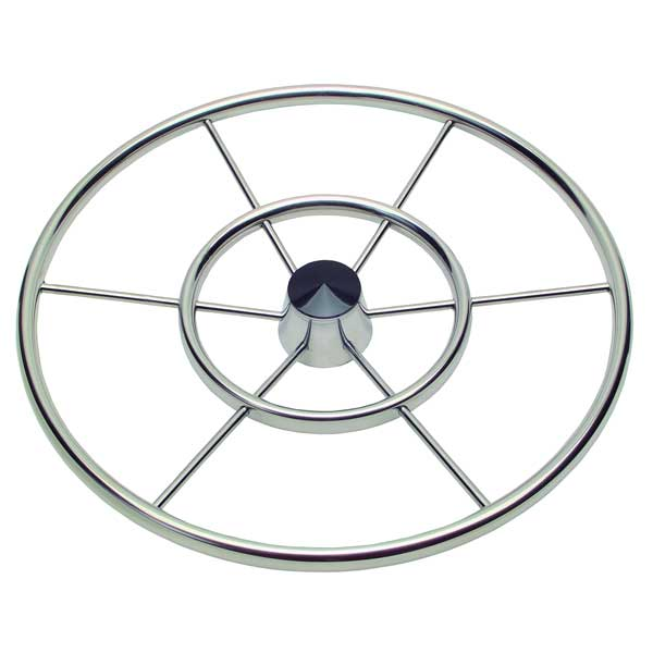 Schmitt Marine Steering 30 Six Spoke Destroyer Wheel