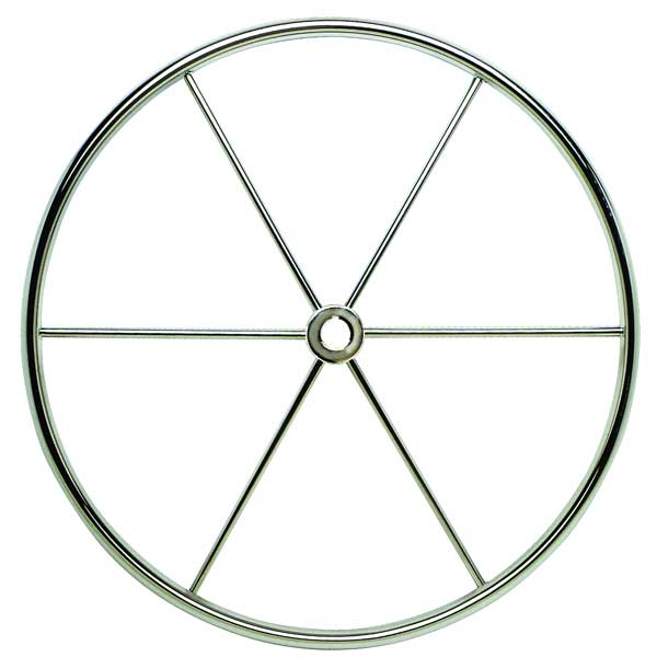 Schmitt Marine Steering 26 Sailboat Wheel Flat