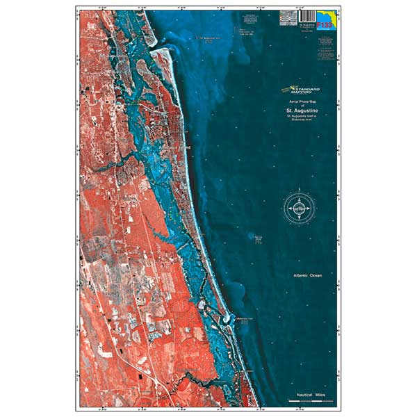 Standard Mapping Service St. Augustine, Florida Laminated Map Sale $23.99 SKU: 7608037 ID# F133 UPC# 654149171338 :