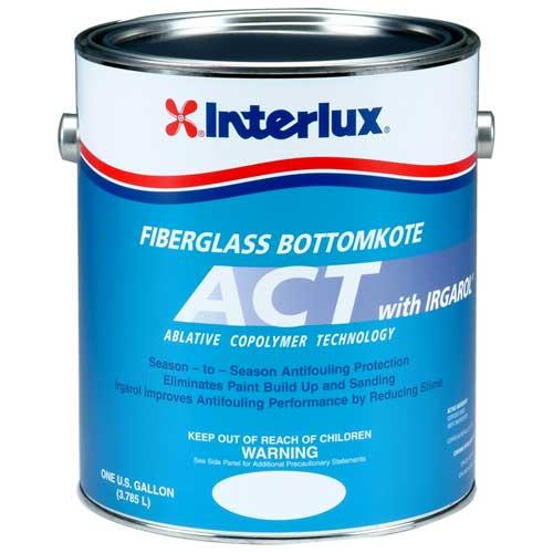 Interlux Fiberglass Bottomkote ACT, Blue, 3 Gal Sale $454.99 SKU: 10175966 ID# Y6690B/3 UPC# 81948999960 :