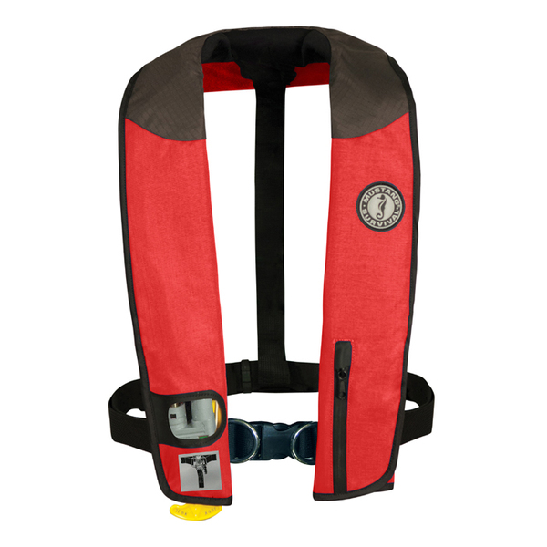 Mustang Survival Deluxe Automatic Inflatable Life Vests with Harness, Red/Carbon/Black Sale $239.99 SKU: 7814189 ID# MD3084-RD/CR UPC# 62533114975 :