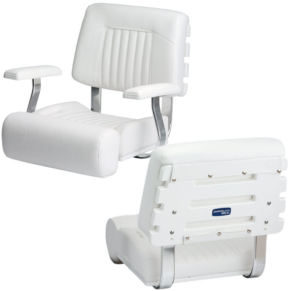 Garelick Ladder-Back Flip-Up Bolster Seat - Without Arms
