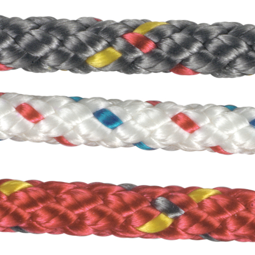 New England Ropes 3mm Finish Line, 75' Spool, 650lb. Breaking Strength, Red