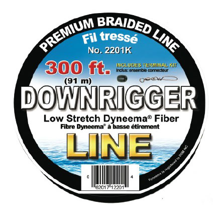 Scotty Premium Braided Downrigger Line 200' Sale $45.99 SKU: 7897622 ID# 2200K UPC# 62017122007 :