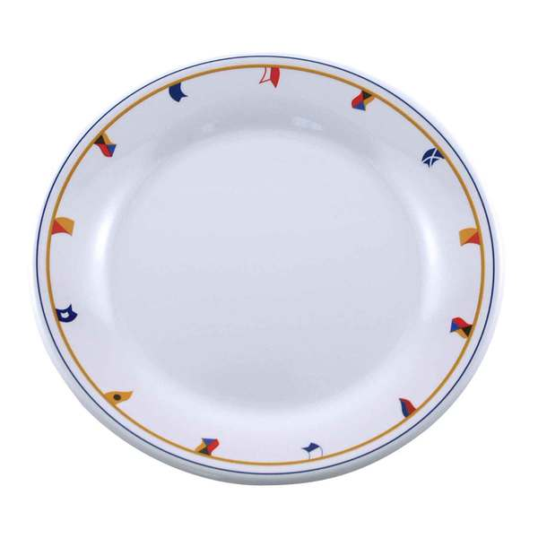Galleyware Dinnerware - Flags Salad Plate, 8 Sale $8.29 SKU: 7911159 ID# 1174 UPC# 650620011742 :