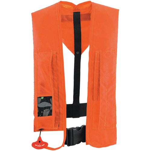 Stearns Ultra 4000 Automatic/Manual Inflatable PFD, Orange Sale $169.99 SKU: 7911704 ID# 1439ORG-00-000 UPC# 44411429753 :
