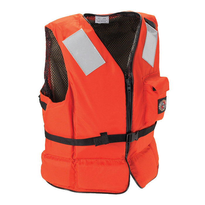 Stearns Deck Hand II Heavy-Duty Flotation Vest, X-Larg