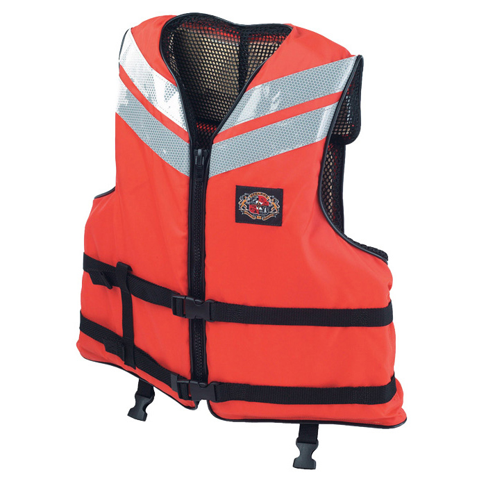 Stearns Work Boat Flotation Vest, XXX-Large, 54--56