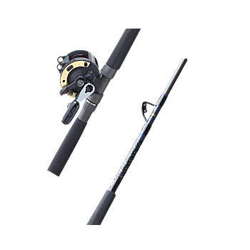 Triton Lever Drag (TLD®) Reel and Stand-Up Rod Combos