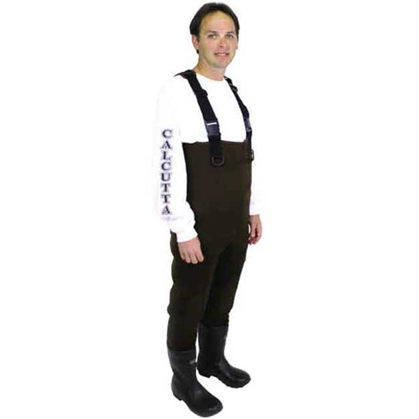 Men's Neoprene Chest Waders - Brown - 8