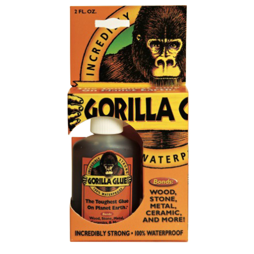 Adhesive Gorilla Glue 2oz Sale $6.99 SKU: 8561060 ID# 5000205 UPC# 52427500021 :