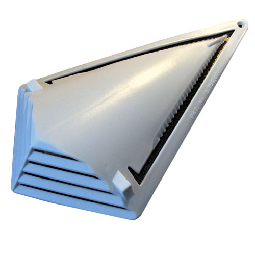 Self-Piercing Louvered Vent