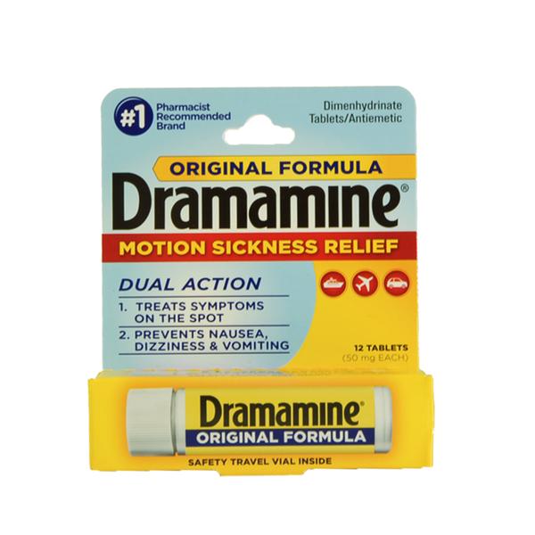 Dramamine Less Drowsy Formula Dosage