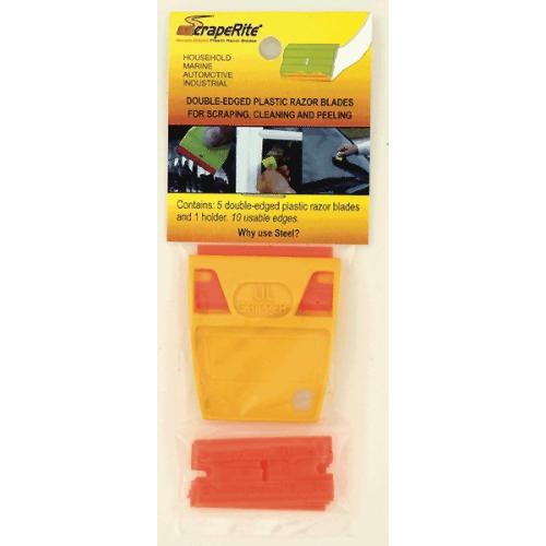 Scrape Rite Plastic Razor Blades