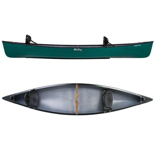 Old Town Canoe Guide 147 Canoe, Green