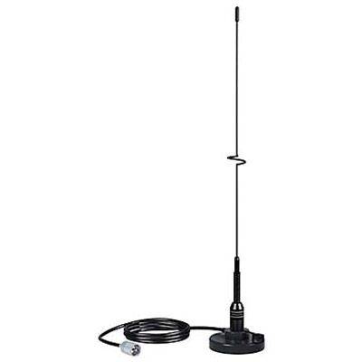 Shakespeare Style 5218, VHF 19in Magnet Mount  Black