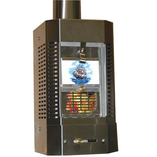 Sig Marine Cozy Cabin Solid Fuel Heater