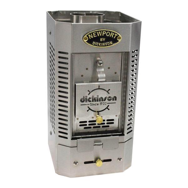 Dickinson Marine Fireplace: DICKINSON MARINE Stainless Solid Fuel Heater