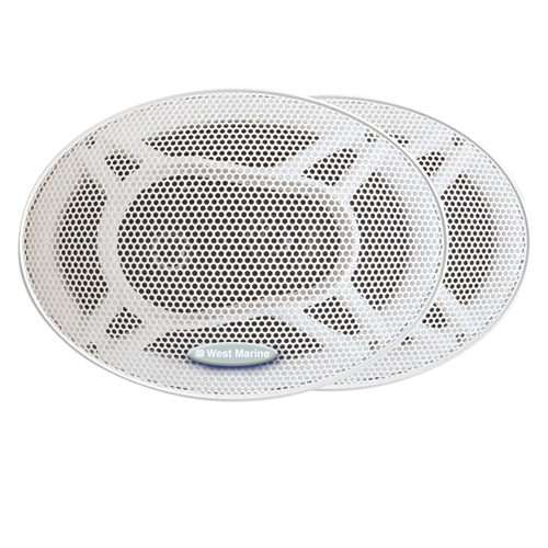 "Pro Series 2-Way Waterproof Stereo Speakers, 6"" x 9"""