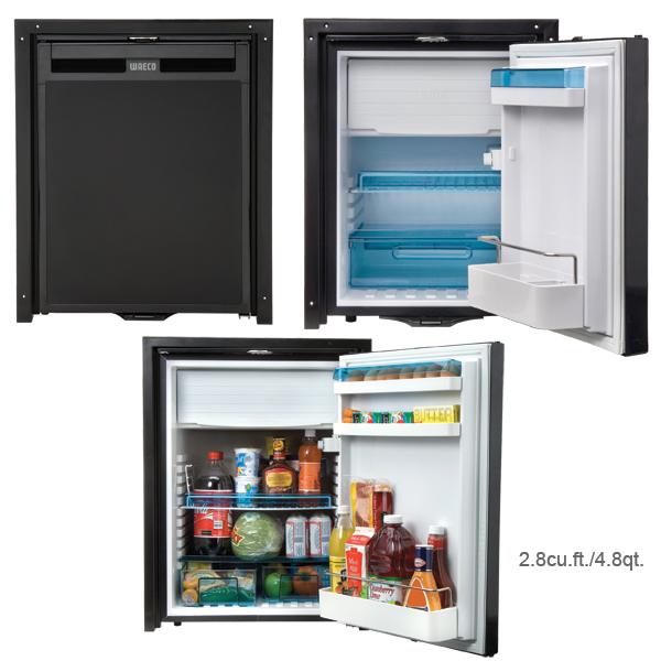 Dometic 1.7cu.ft./4.8qt. CoolMatic CR Compressor Refrigerator, 16W x 21H x 19.4D Cutout Size