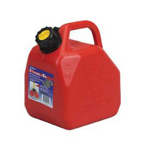 Scepter 1.25 Gallon Self Venting Jerry Can (Red)
