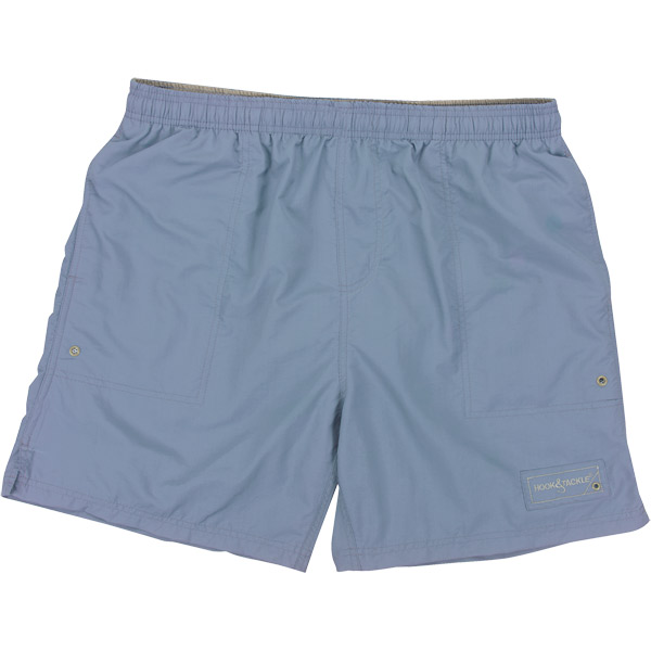 Men's Beer Can Island Swim Trunks - Steel Blue - L