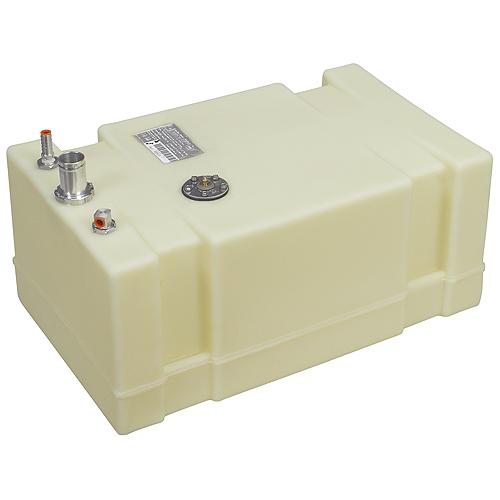 Moeller Permanent Below Deck Fuel Tank, 19 Gallon, 26L x 16W x 11.75H