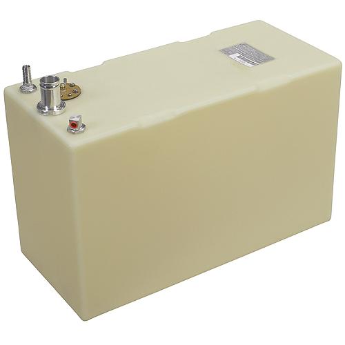 Moeller Permanent Below Deck Fuel Tank, 20 Gallon, 26L x 11.75W x 16.25H