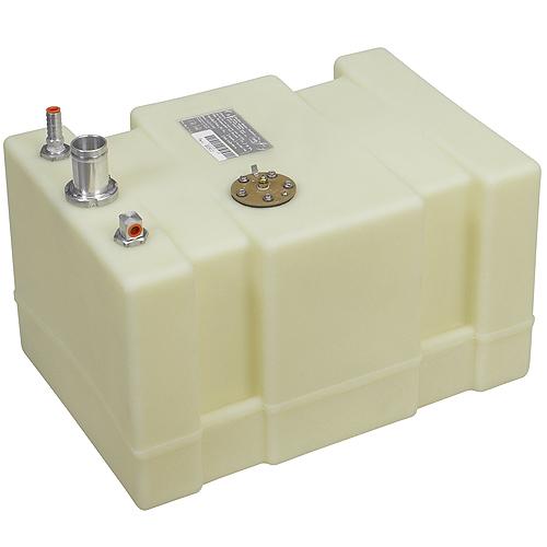 Moeller Permanent Below Deck Fuel Tank, 12 Gallon, 20L x 14W x 11.75H