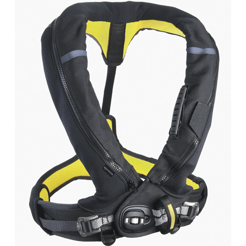 Spinlock Automatic Inflatable DeckVest with Harness, X-large-XX-Large, Chest Size 38-59 Sale $369.99 SKU: 12439535 ID# DW-LJH/A3 UPC# 5025138503273 :