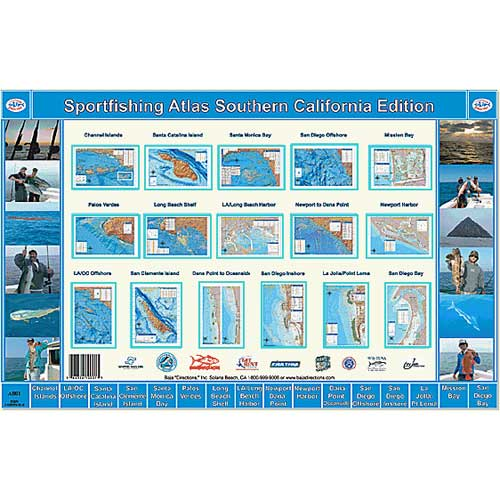 Baja Directions Sportfishing Atlas, Southern California Edition