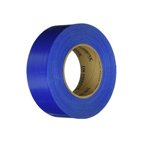 Dr. Shrink Shrink Wrap Tape, 2x9D X 180, Blue